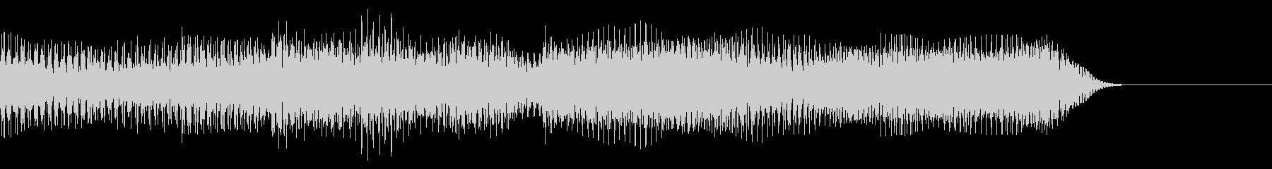 テッテレ(入手) 8bit 普通スピードの未再生の波形
