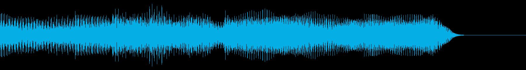テッテレ(入手) 8bit 普通スピードの再生済みの波形