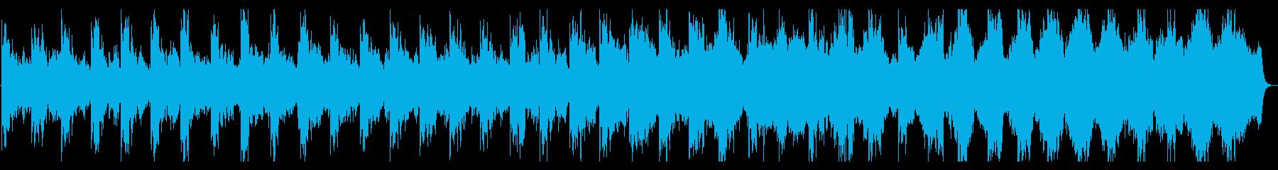 不穏でミステリアスな劇伴曲の再生済みの波形