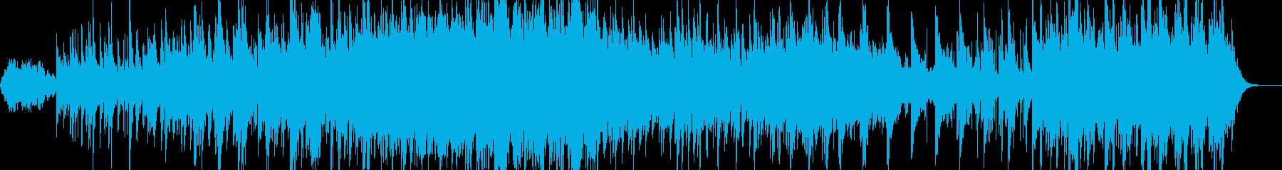 リラクゼーション、バイオリンー森林浴の再生済みの波形