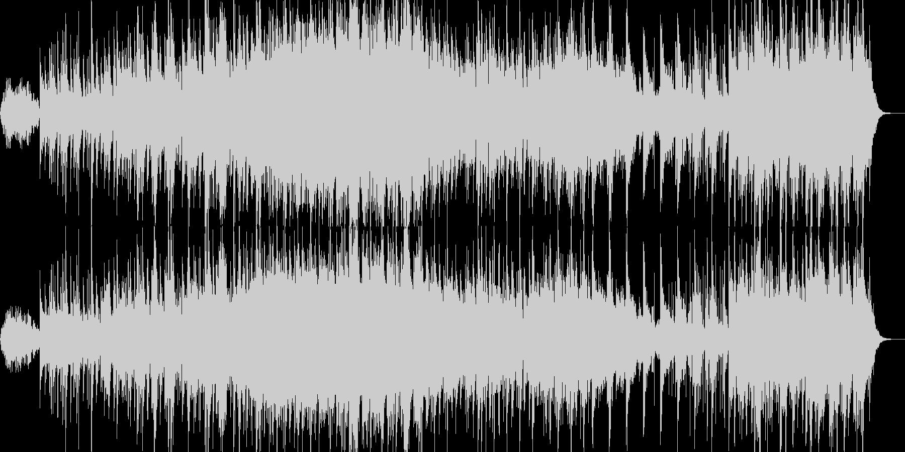 リラクゼーション、バイオリンー森林浴の未再生の波形