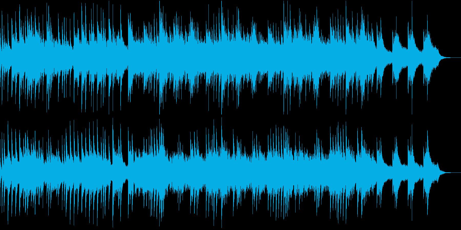 回想、ゲームオーバー時の切ないピアノの再生済みの波形