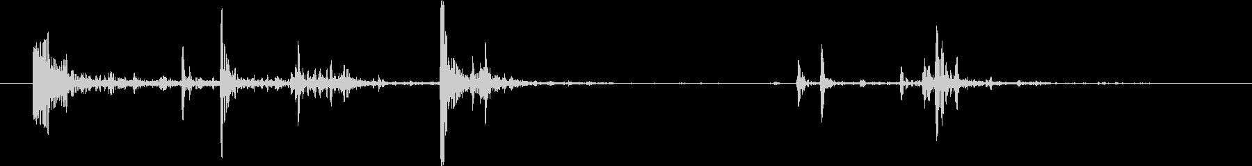 ミディアムロックまたはストーン:ゆ...の未再生の波形
