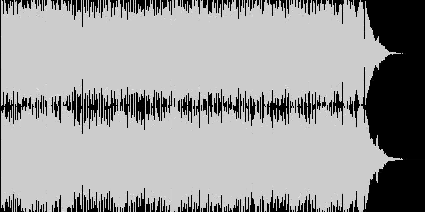 ピアノ&エレキギター 楽しいクリスマス曲の未再生の波形