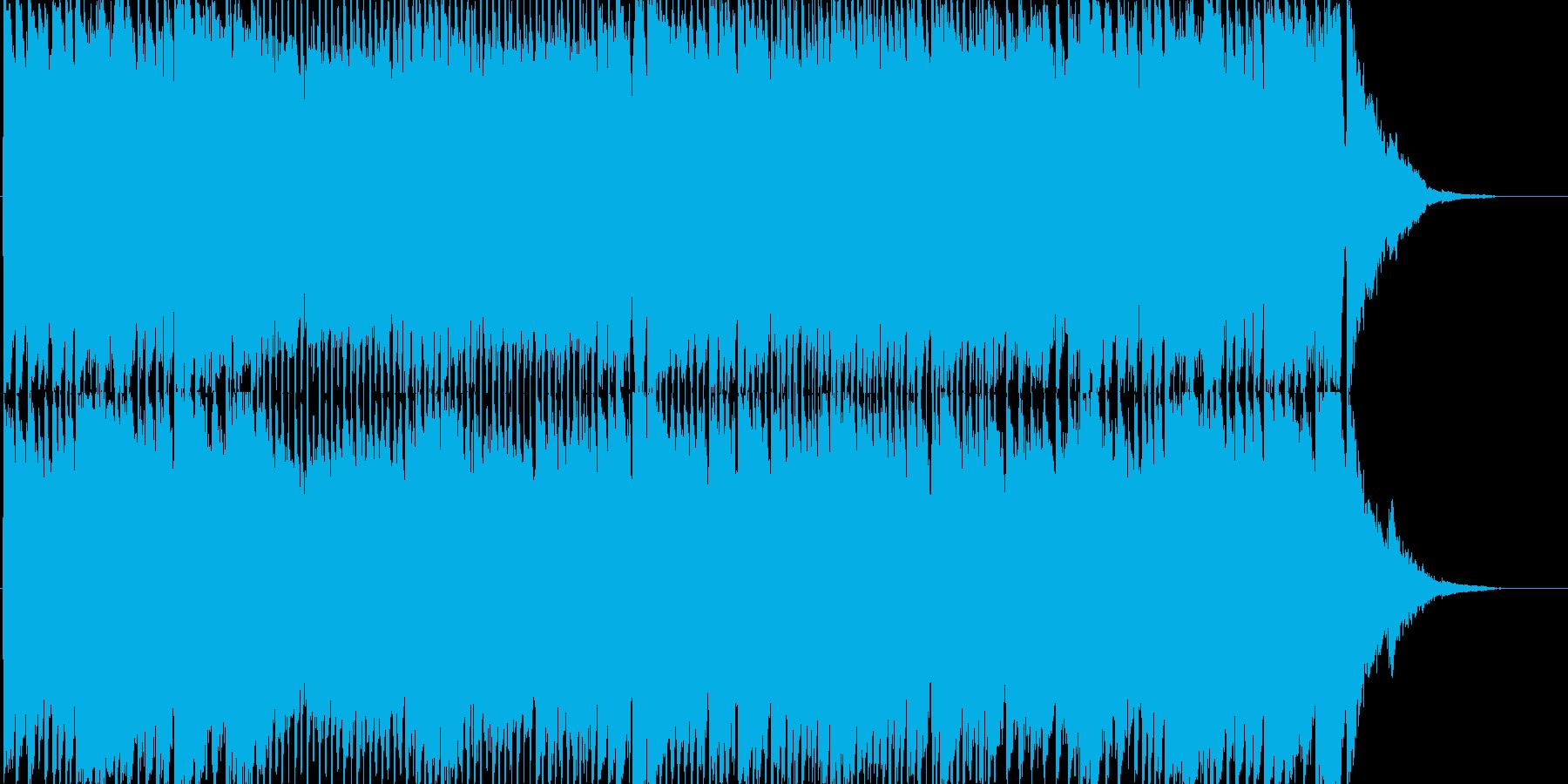 ピアノ&エレキギター 楽しいクリスマス曲の再生済みの波形