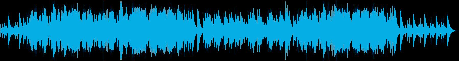 あやしいミステリアスなオルゴール風の再生済みの波形
