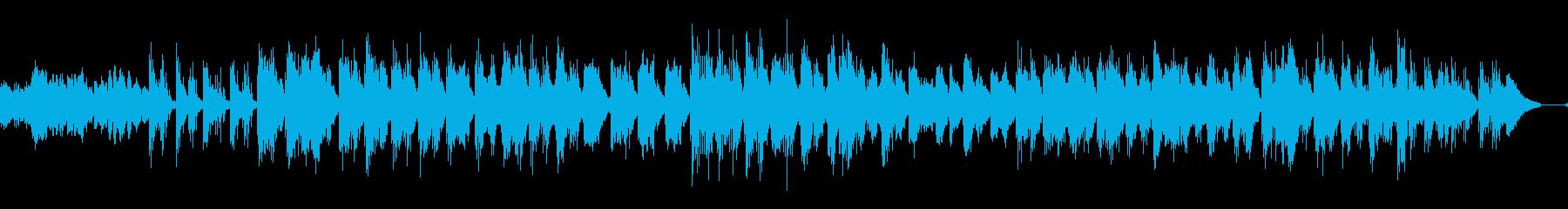 ゆっくりアジアや古代の歴史を感じる琴の曲の再生済みの波形