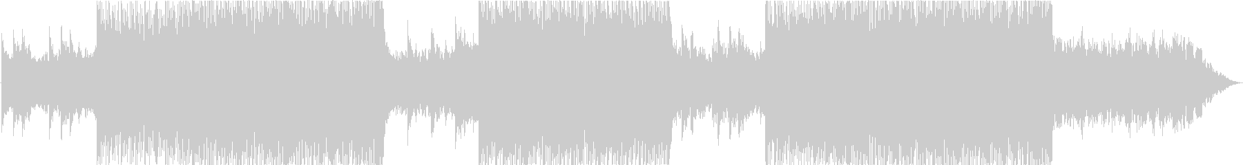 【BGM】kawaii bassの未再生の波形