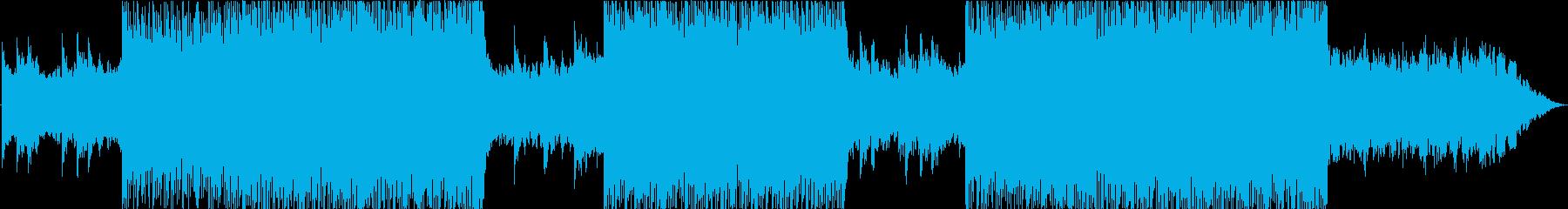 【BGM】kawaii bassの再生済みの波形