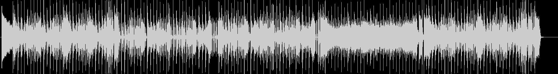 生サックス お洒落なエレクトロスウィングの未再生の波形