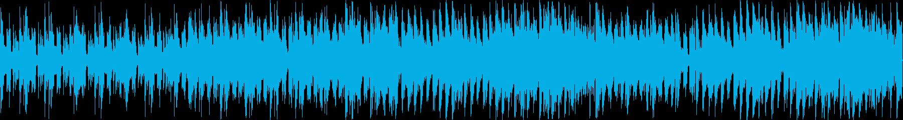 ゲームのボーナスステージやフィーバーモ…の再生済みの波形
