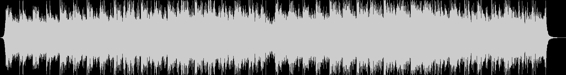 マリンバとピアノ中心のアンビエント曲の未再生の波形