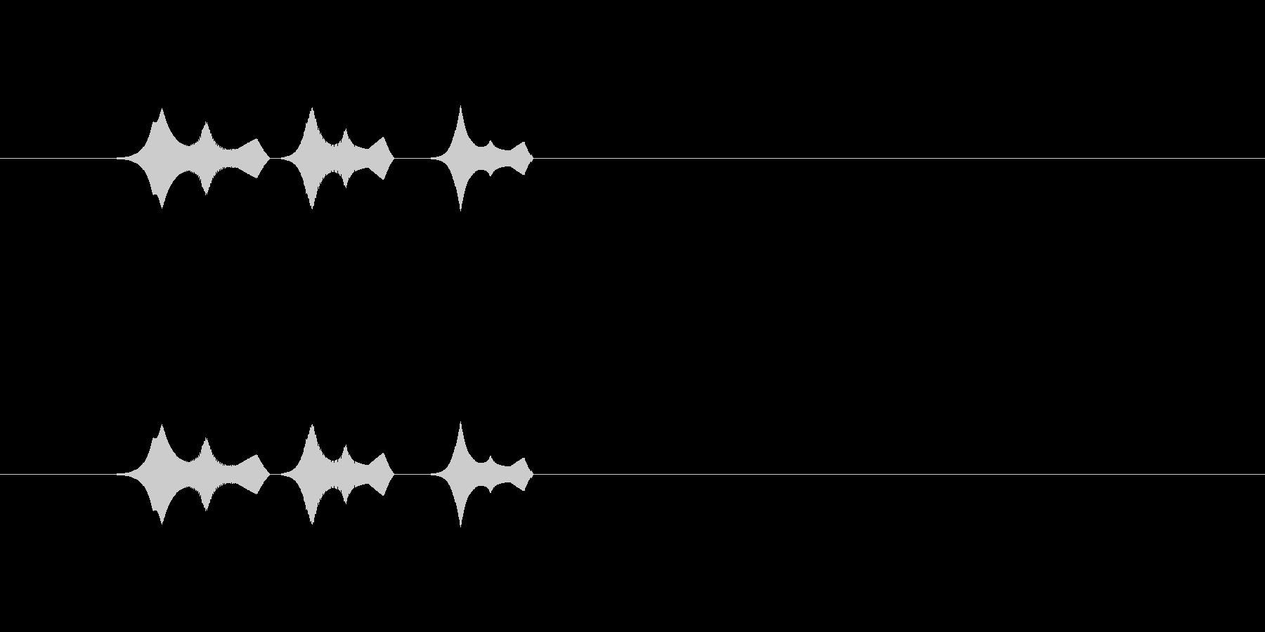 【ポップモーション34-4】の未再生の波形