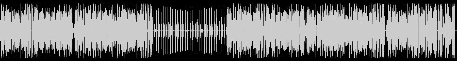 チップチューン・レトロ・スウィングジャズの未再生の波形