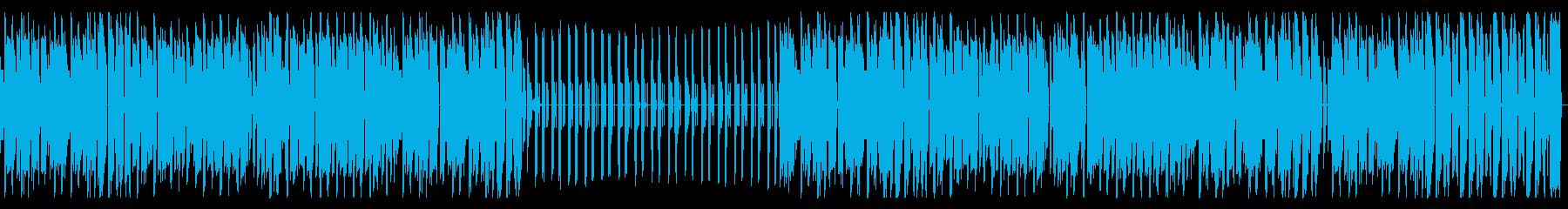 チップチューン・レトロ・スウィングジャズの再生済みの波形