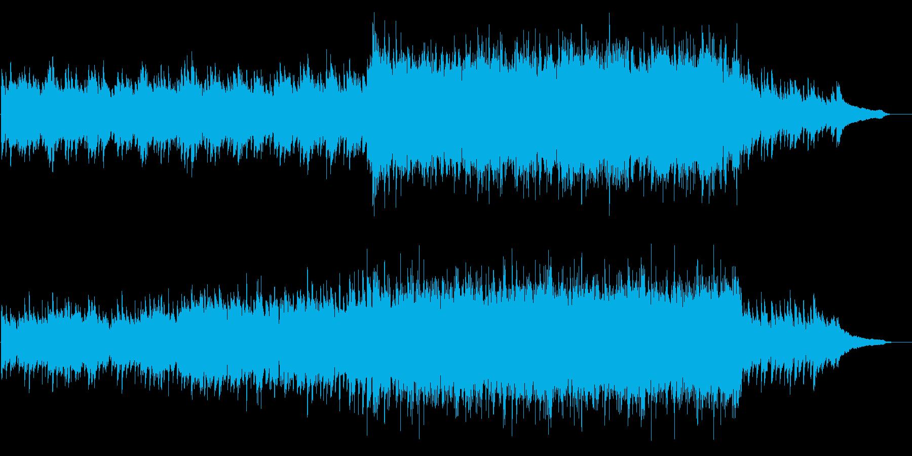 VP13、感動的なピアノ&オーケストラの再生済みの波形