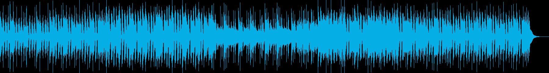 日常感溢れる楽曲の再生済みの波形