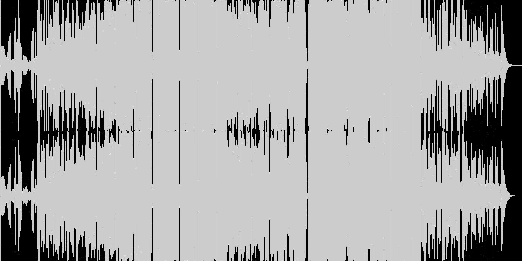 大正浪漫っぽいトラップの未再生の波形