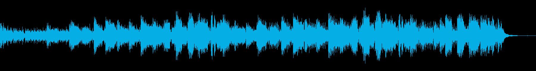 西部劇をイメージした曲の再生済みの波形