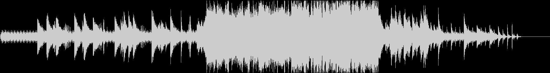 歯車を模した旋律がクールなピアノソロの未再生の波形