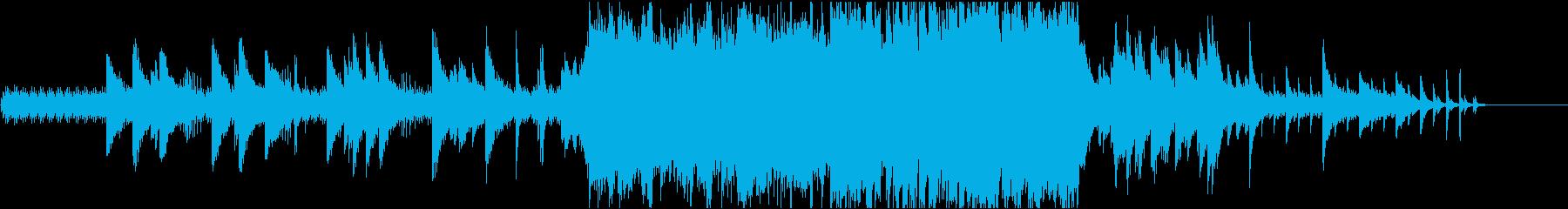 歯車を模した旋律がクールなピアノソロの再生済みの波形