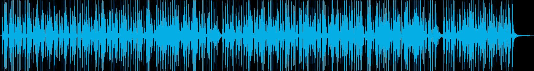 のんびりバカンスなウクレレの曲の再生済みの波形