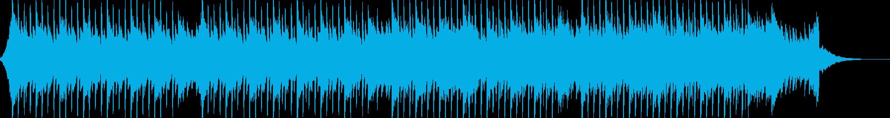 企業VP系44、爽やかギター4つ打ちbの再生済みの波形