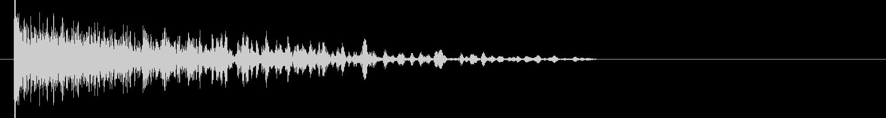 映画告知音159 ドーンの未再生の波形