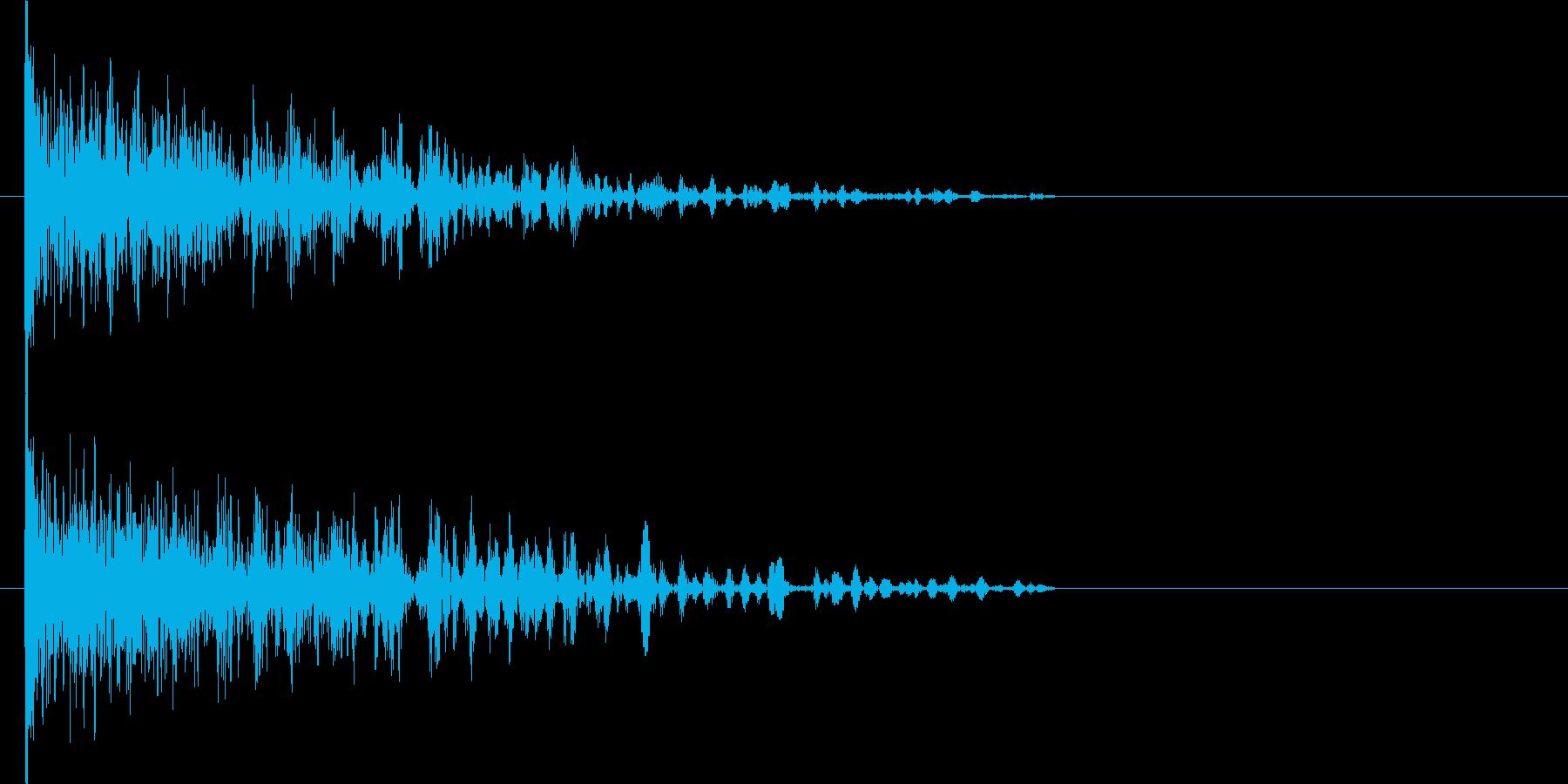映画告知音159 ドーンの再生済みの波形
