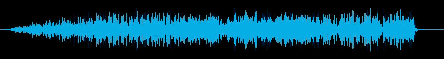 悪魔のような音声4の再生済みの波形