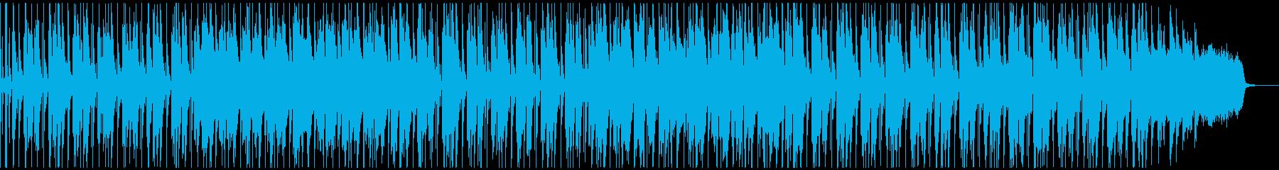 軽快で優しい気持ちの朗らかなジングルの再生済みの波形