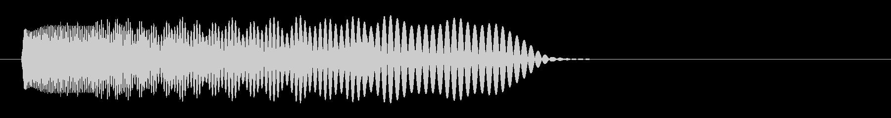 爆発・衝撃波・ソニックブーム15の未再生の波形