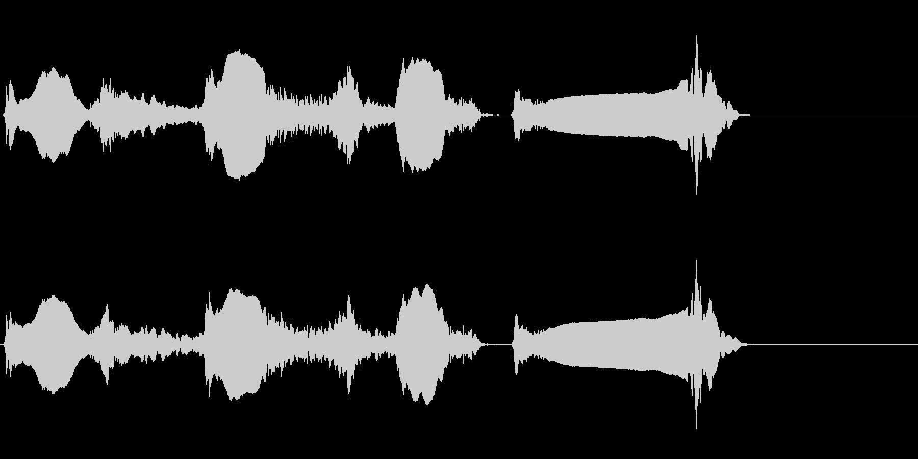 尺八 生演奏 古典風#5の未再生の波形