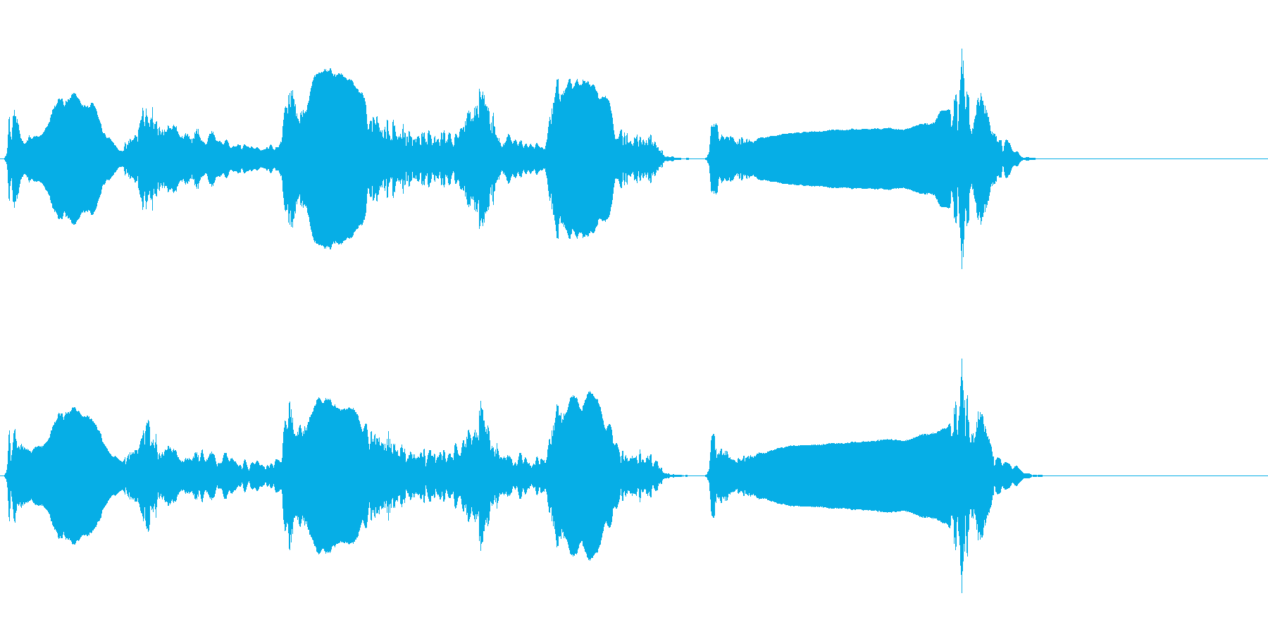 尺八 生演奏 古典風#5の再生済みの波形