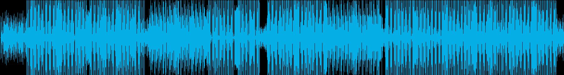 遊び心あるファンキーなラテン系ストラットの再生済みの波形