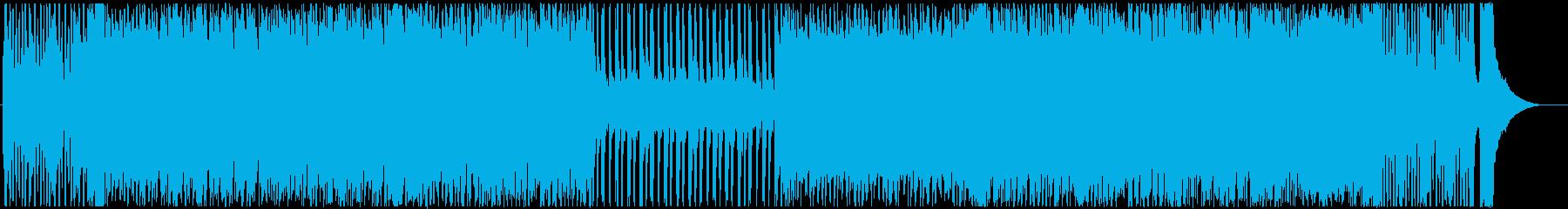 元気で壮大なオーケストラの再生済みの波形