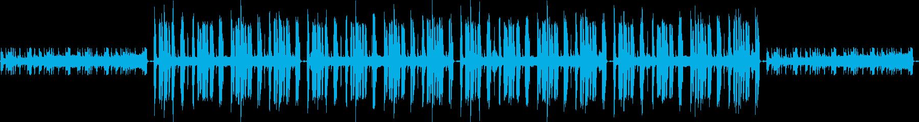 リラックス・緩い作業用ブレイクビーツの再生済みの波形