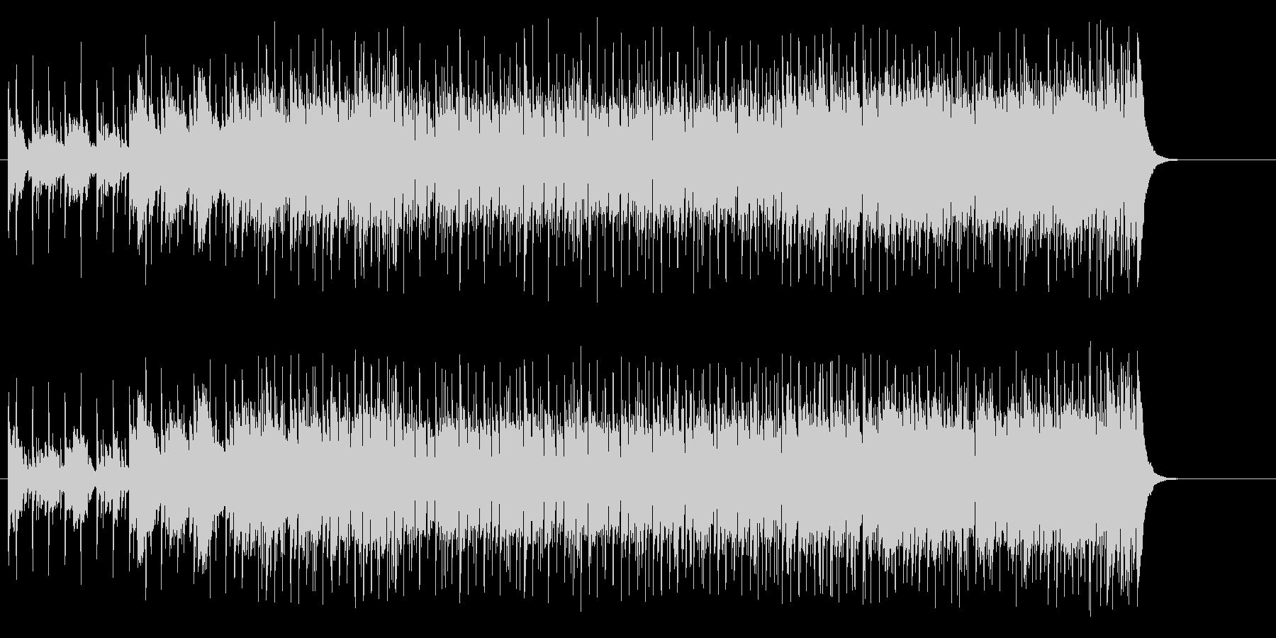 ワクワクしながら、その気になるBGMの未再生の波形
