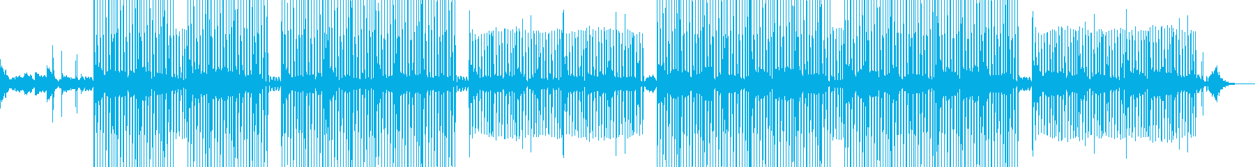ヴォーグダンスに最適な音楽の再生済みの波形