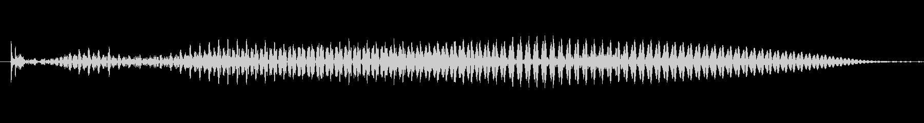 (女性)ドイツ語 数字3(三) ドライの未再生の波形