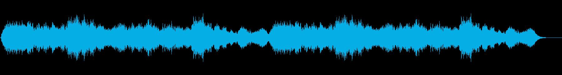 星の庭の再生済みの波形
