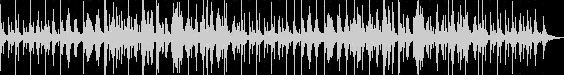心安らぐ寛ぎのジャズバラードピアノの未再生の波形