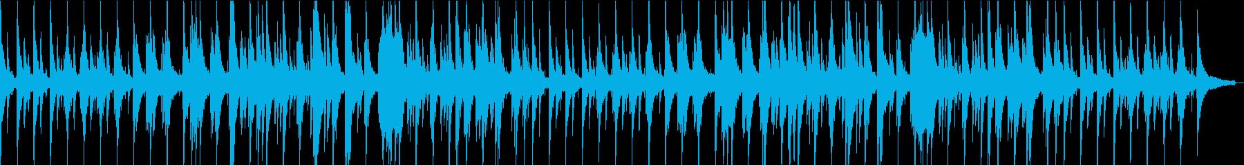 心安らぐジャズバラードピアノの再生済みの波形