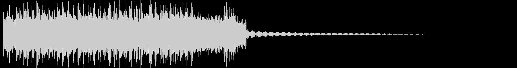 ヘヴィメタルなアイキャッチの未再生の波形