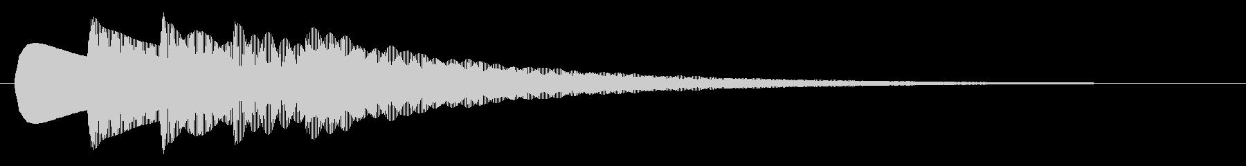 ピンポンパンポンピン_(お知らせ)上昇の未再生の波形