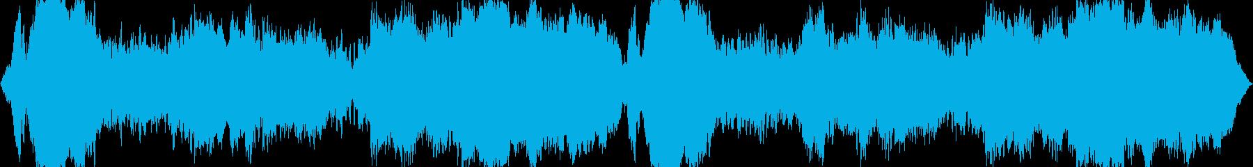 怖い話・怪談・ホラー用BGM(水系)の再生済みの波形