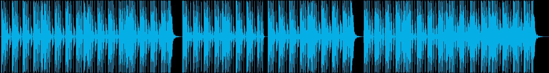 ブルゾンちえみの35億のようなBGM2の再生済みの波形