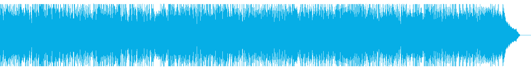 情熱的なニューオリンズ風ジャズピアノの再生済みの波形