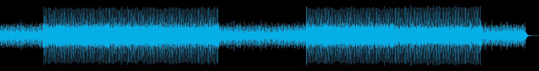 スポーツEDM、爽やか・パワフルの再生済みの波形
