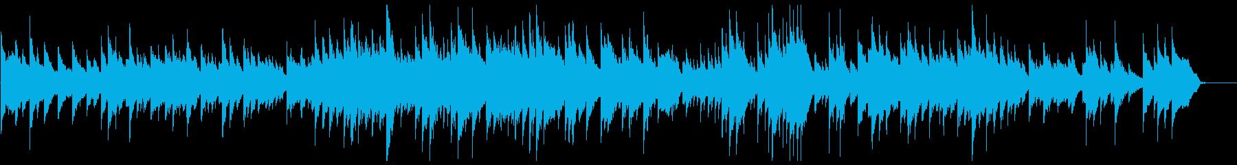 なんとなく明るいピアノ曲 無色の再生済みの波形